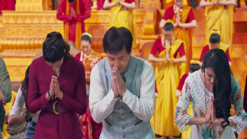 Kung fu yoga Beautiful fairy tales клип к фильму В поисках сокровищ с участием Джеки Чана