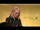 Billie Jean King Interviews Emma Stone About Battle of the Sexes