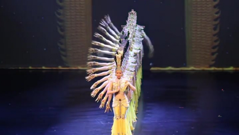 Impaired Dancers performing Thousand-hand Bodhisattva