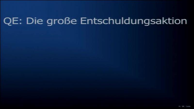 Prof. Hans-Werner Sinn Euro Desaster.
