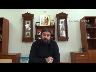 Аргумент для баптистов. Протоиерей А. Ткачёв.
