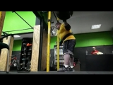 Влад Алхазов - присед 420 кг на 3