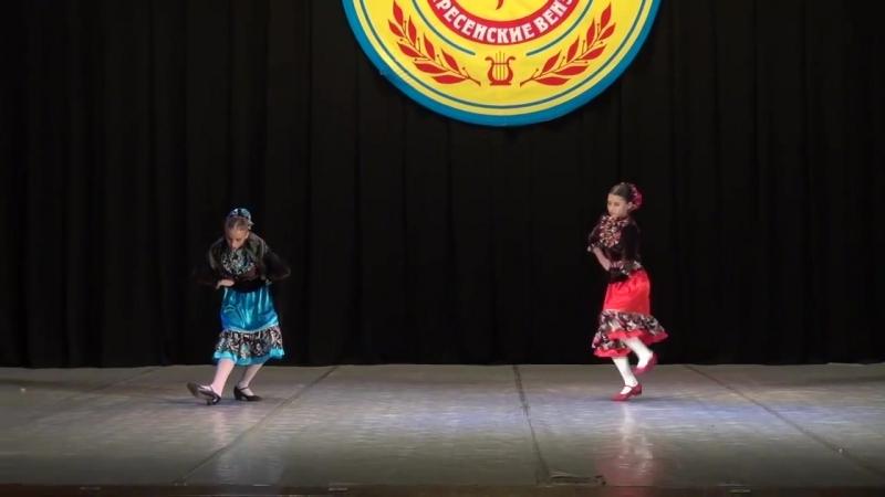 Русский танец Девичий перепляс