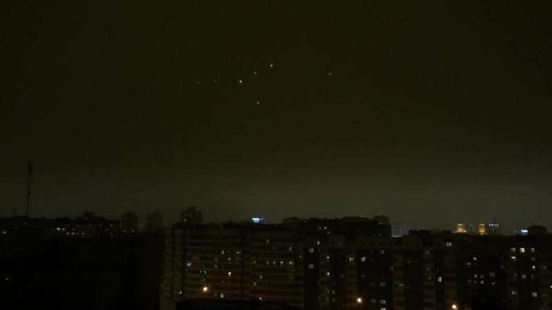 НЛО над Минском или что это может быть 20.02.2016