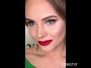 Текстурная греческая, стрелки и красные губы) Визажист-стилист Татьяна Зиньковская