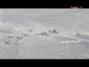 Война в Йемене. Хуситы засняли драку на позициях противник и ударили по ним из миномётов.