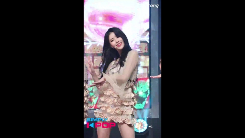 171215 [Индивидуальный фанкам - Миджу] Lovelyz - Twinkle @ Simply K-Pop
