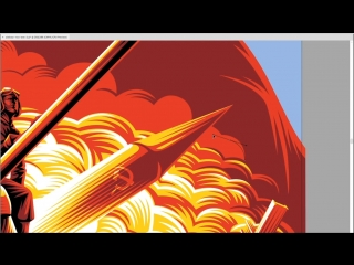 When the Cold War becomes Hot.  Плакат для 4-ой годовщины выхода World Of Tanks на консолях.