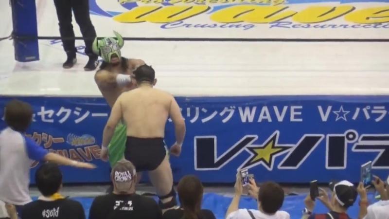 Inaba no Buffalo vs. Keisuke Goto (WAVE - Tottori WAVE ~Kinanse~)