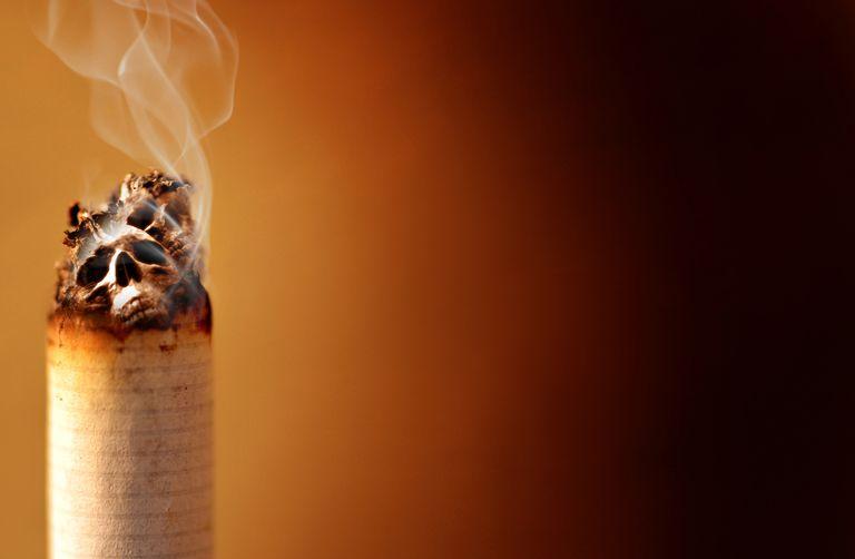 Аммиак в сигаретах при курении