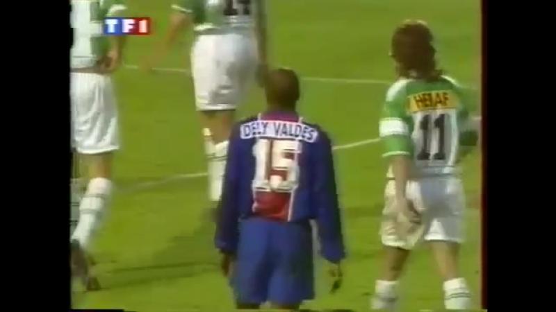 Кубок Кубков 1995/96. ПСЖ (Франция) - Рапид Вена (Австрия) - 1:0