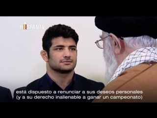 Líder iraní alaba a luchador que rehusó enfrentarse a un israelí