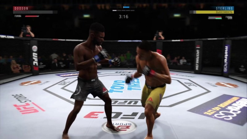 UFC 3 (Dodson (Я) vs Sterling (Паша))