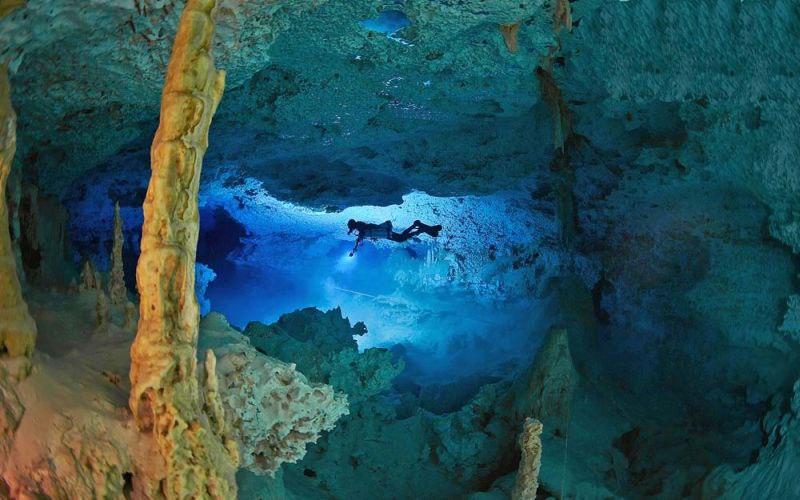 юкатан подводные пещеры