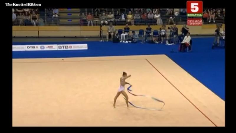 Сабина Аширбаева, лента(финал), World challenge cup, Berlin 2017