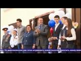 АСН-вручение знаков ГТО на торжественной линейке в День знаний