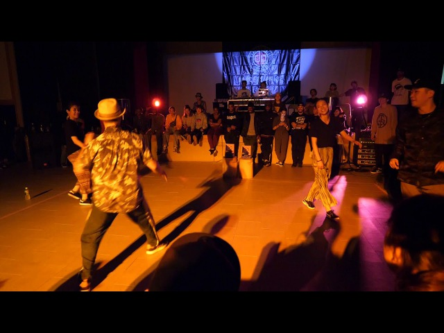 HOAN MIYU vs GUCCHON KAZANE BEST8 HOUSE SDCJ 2017 Street Dance Camp Japan