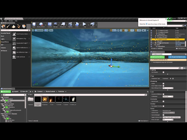 Water volume and Effects Tutorial Unreal Engine 4