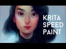 KRITA SPEEDPAINT| Cleo