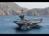 George H.W. Bush (CVN 77) Carrier Strike Group Deployed to Middle-East, Rare HangarDeck Tour