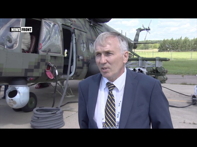 Демонстрация российского вертолета Ми-171Ш