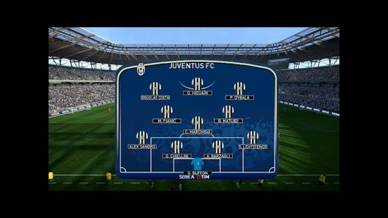 Sassuolo vs Juventus   Serie A   Mapei Stadium   PES 2017 Full HD 1080p60   Super Star