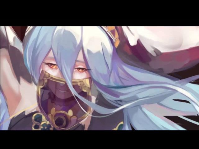 Fire Emblem If/Fates - Aqua/Azura [Process]