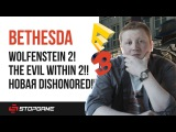 E3 2017. Итоги презентация Bethesda: анонсы The Evil Within 2, Wolfenstein 2 и новой Dishonored