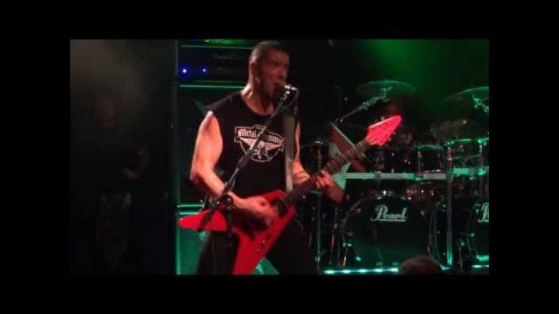 Annihilator - Refresh The Demon (Live - Biebob - Vosselaar - Belgium - 2013)