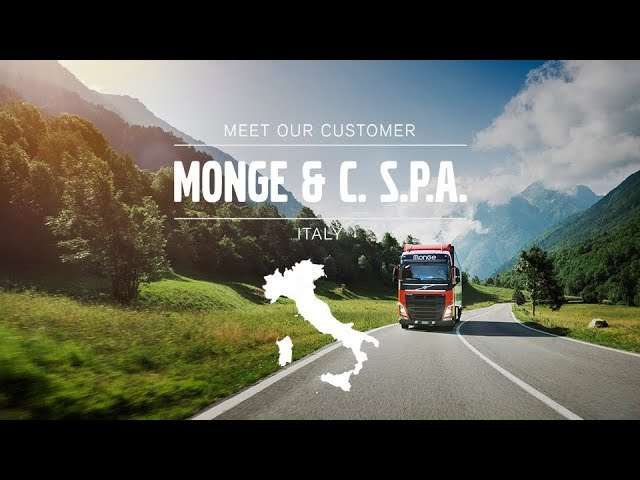 Volvo Trucks - Always on the hunt for eco-friendly solutions – Meet our Customer: Monge C Spa