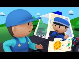 Police Officer Oona chases a paint thief and gets a BIG SURPRISE!   Police Car Wash