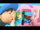 Ivans Ice Cream Truck goes through the car wash Cartoon for kids