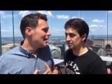 Джонатан Грофф и Лин-Мануэль поют Satisfied в рамках акции #Ham4All