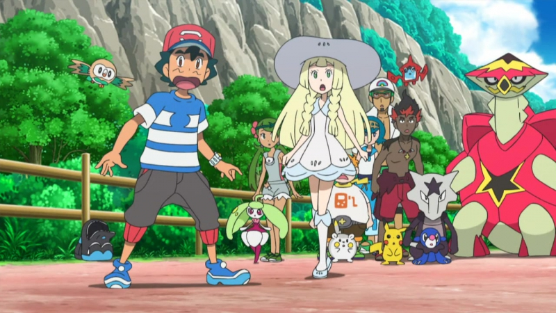 Pokemon SM (Pocket Monsters SM) - 50 \ Покемоны 20 сезон 50 серия (оригинал)