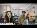 Данат песни Тихон Новокузнецкий Роза Ветров на стриме Андрея Щадило 20 1 18