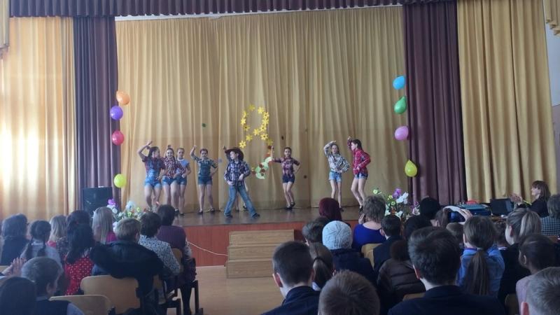 Ковбойский танец средняя группа
