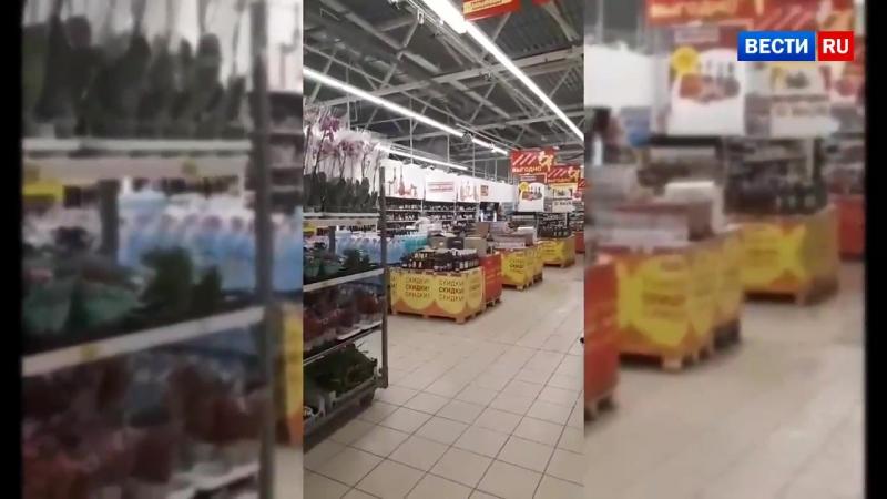 Чёрт попутал_ пьяный житель Иванова устроил погром в супермаркете из-за желания