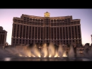 Bellagio Fountains, Las Vegas Nevada - Time to say goodbye in HD 1080p Stereo