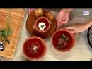 Промоутер кулинар презентатор Олег Сотников с Ольгой Граф и ведущей Оксаной Сташенко Вкусно 360