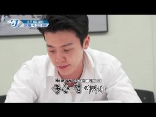 SJ Returns Ep 17 - Первая встреча для обсуждения заглавной песни, часть 1 (рус.саб)