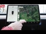 Tesla Model 3 едет в Россию- первый тест-драйв, полный обзор, разгон до 100 км-ч и автопилот