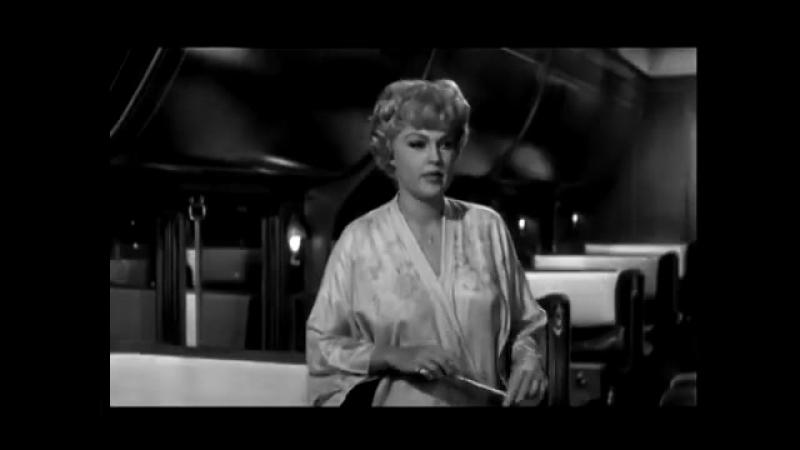 Marilyn Monroe В джазе только девушки - Репетиция в вагоне