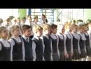 2 В класс. Победители конкурса Смотр строя и песни 2018г.