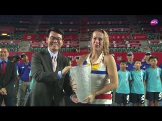 2017 Hong Kong Open Final - Anastasia Pavlyuchenkova vs. Daria Gavrilova - WTA