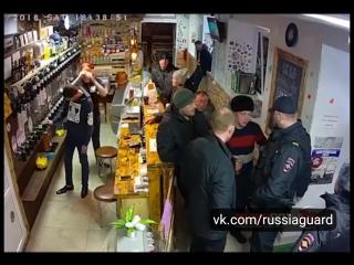 В городке Спасск-Дальний мужики не любят, когда им мешают отдыхать