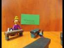 Учитель Наш первый мультфильм