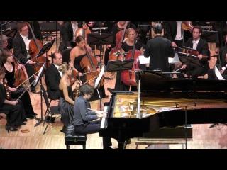 Равель Концерт № 1 для фортепиано с оркестром, Люка Дебарг (фортепиано) Дирижёр – Михаил Плетнёв