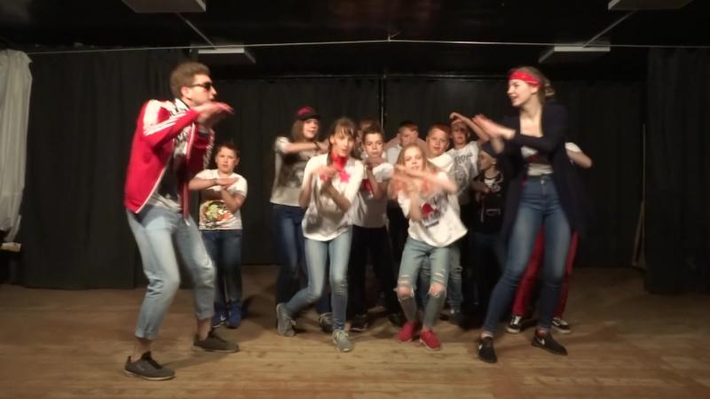Танец отряда Галактика