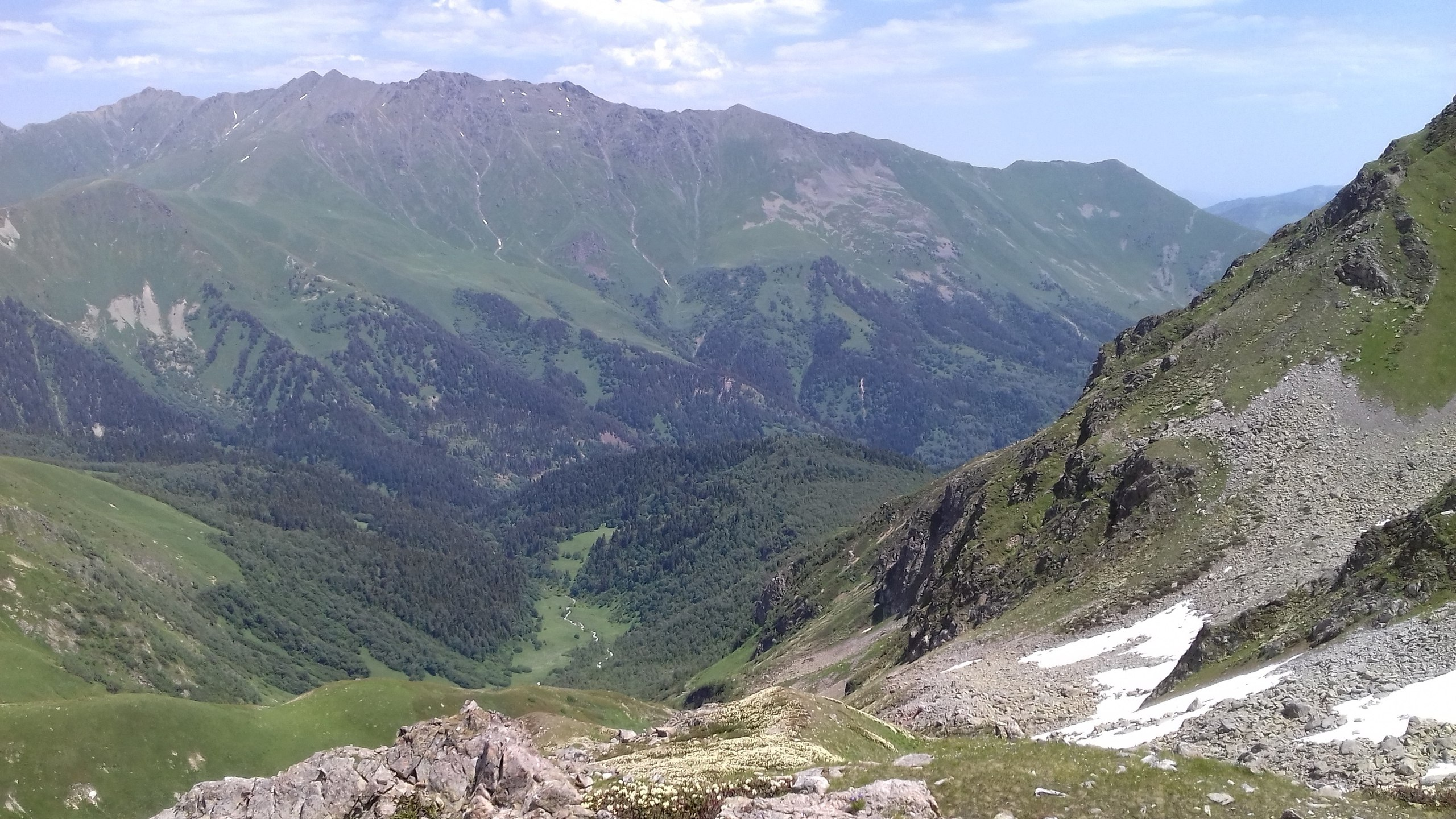 MegaTransCaucasus 2017: through the mountains to the sea. Part 3. To the top of Damhurts! Lake, Zakan, mountains, Damhurts, only, for the first time, fast, lakes, sun, Lake, sides, life, then, almost, Here, by the way, we met, upwards, several