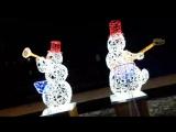Квартет снеговиков на Рахова
